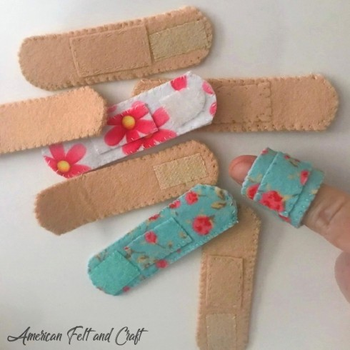 Free pattern felt bandages - American Felt and Craft