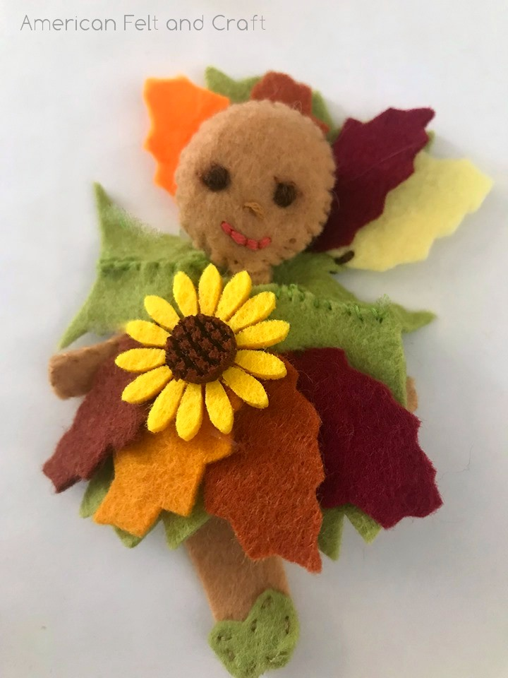 DIY fall fairy craft