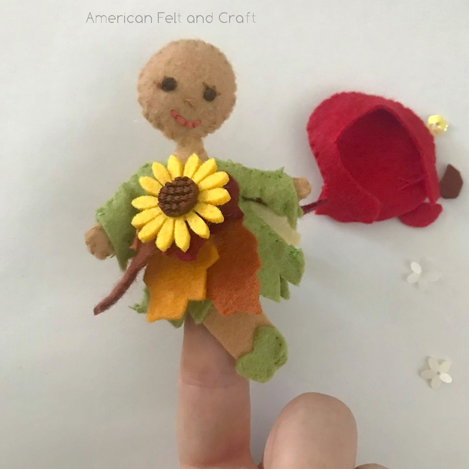 fall fairy tutorial and pattern