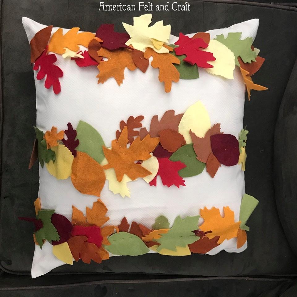 pillow - felt fall crafts