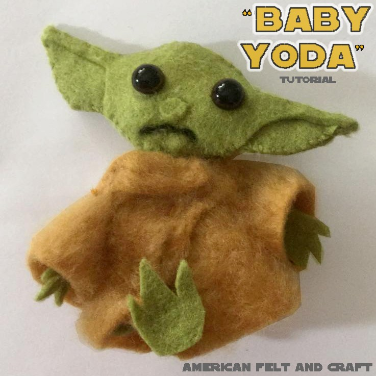 Tutorial to make a baby yoda