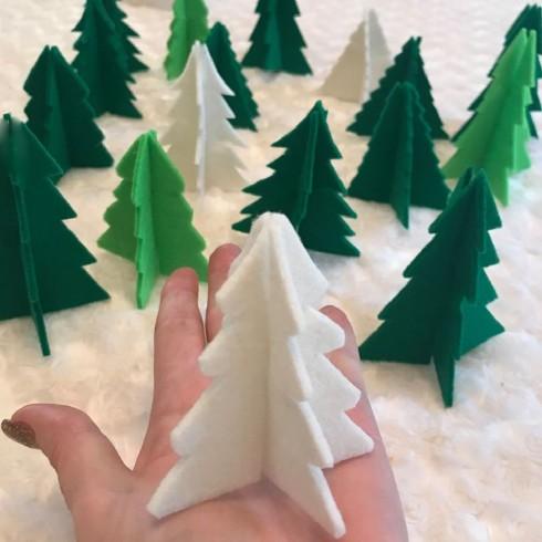 3d christmastreefelt