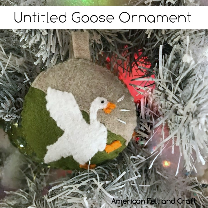 Untitled Goose Game Ornament