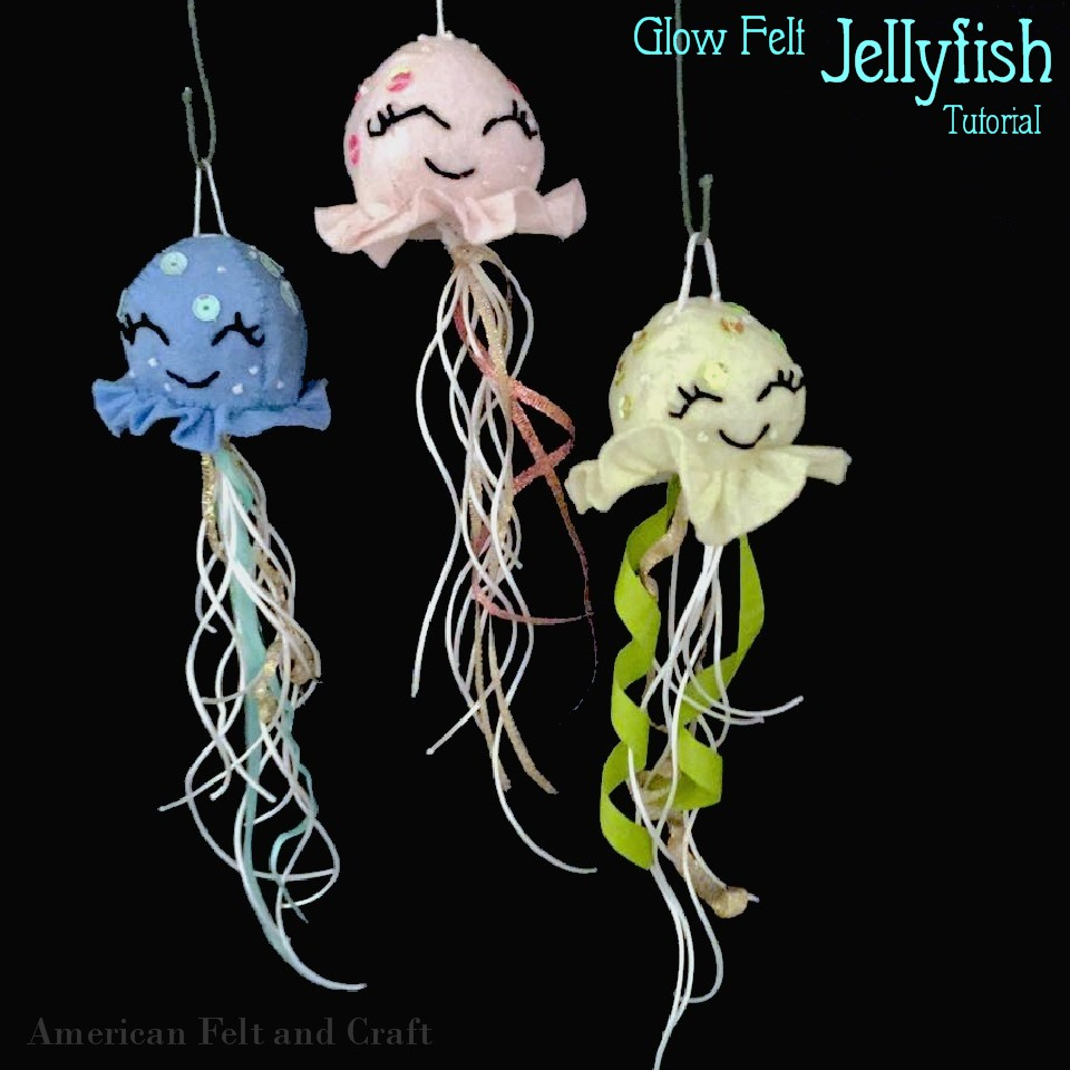 glow in the dark jellyfish tutorial free
