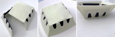 felt blueberry crate
