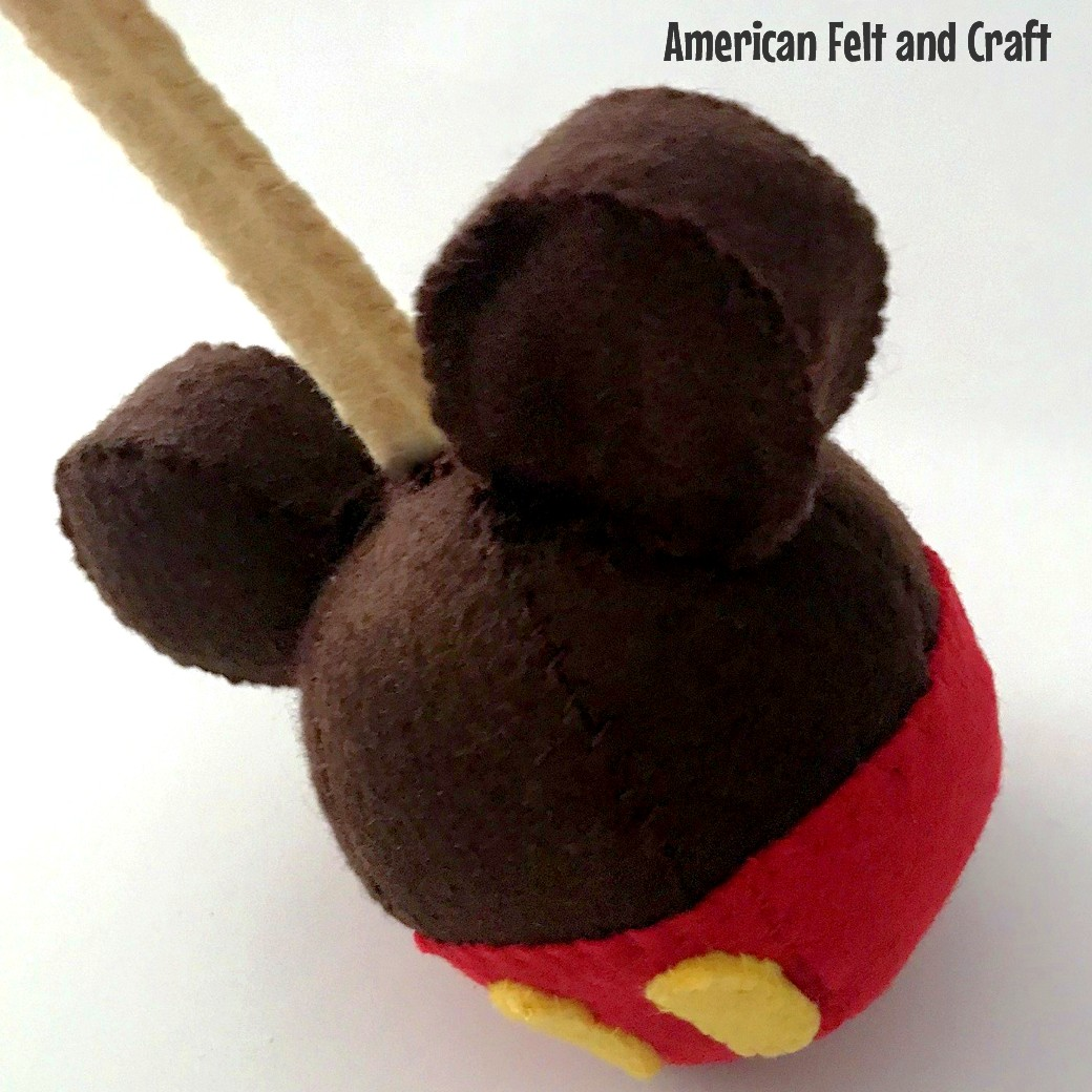 Felt Candy Apple DIY tutorial pattern