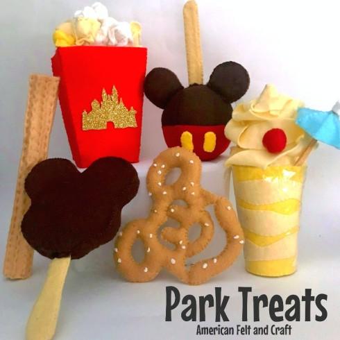 Felt food treats- Disneyland Inspired