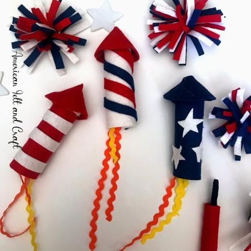 Felt crafts for summer free pattern diy garland