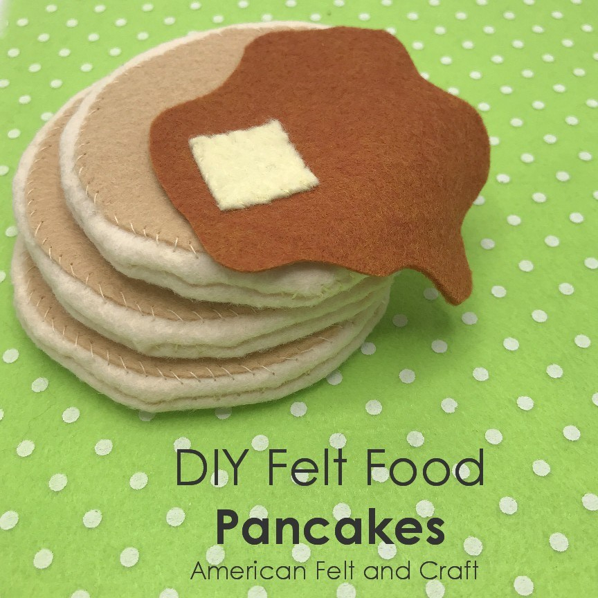 Felt pancakes pattern
