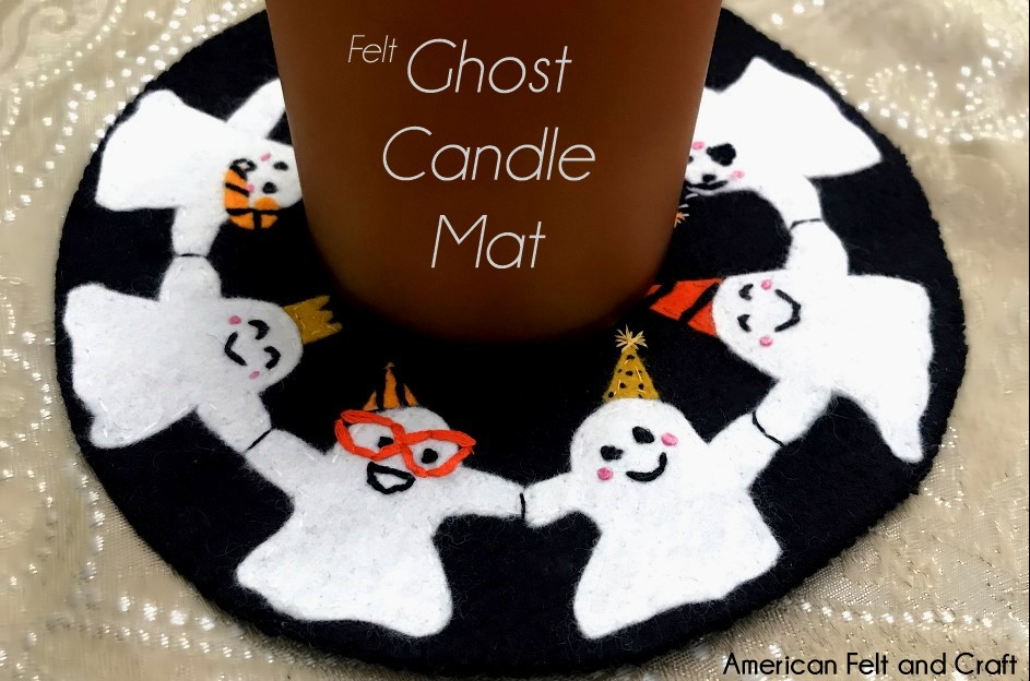 Ghost Candle Mat